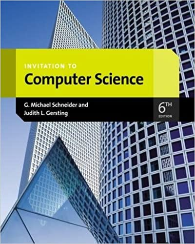 Invitation to computer science introduction to cs 9781133190820 invitation to computer science introduction to cs 9781133190820 computer science books amazon stopboris Image collections