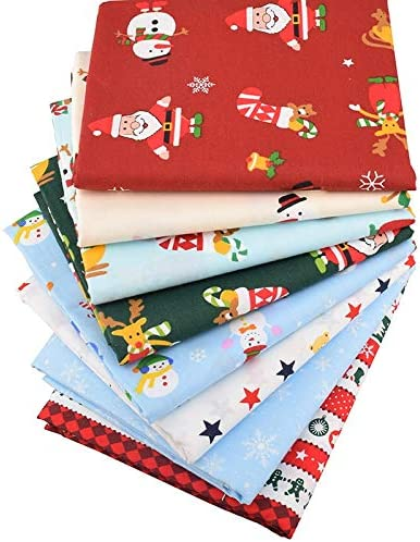 Christmas Fabric Novelty Fabric Fabric for Christmas Projects 44 x 54 nches Quilting Sewing and Pillows