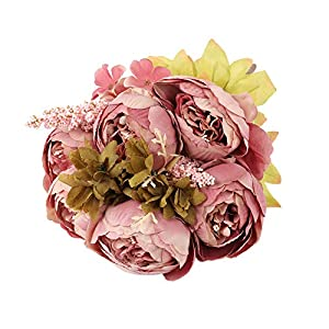 VOLUEX Vintage Peony Artificial Flowers Silk Peonies Flowers Real Touch Bouquets Wedding Home Decoration 120
