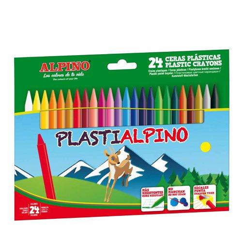 Alpino PA000024 - Estuche 24 ceras 946216
