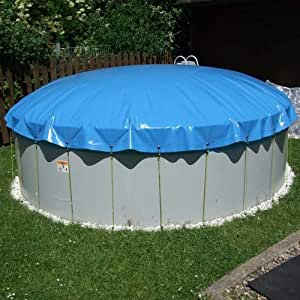 SAXONICA - Cubierta Hinchable para Piscina, diámetro de 380 cm ...