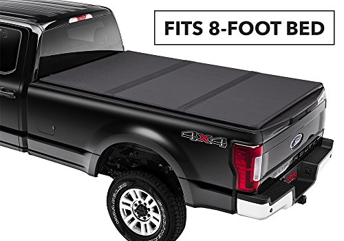 (Extang Solid Fold 2.0 Hard Folding Truck Bed Tonneau Cover | 83488 | fits Ford Super Duty Long Bed (8 ft) 2017-18)