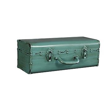 Accessories Health UK Inicio Colgante Loft Maleta de Hierro Industrial Modelo Vintage Retro Calado Artesanías de