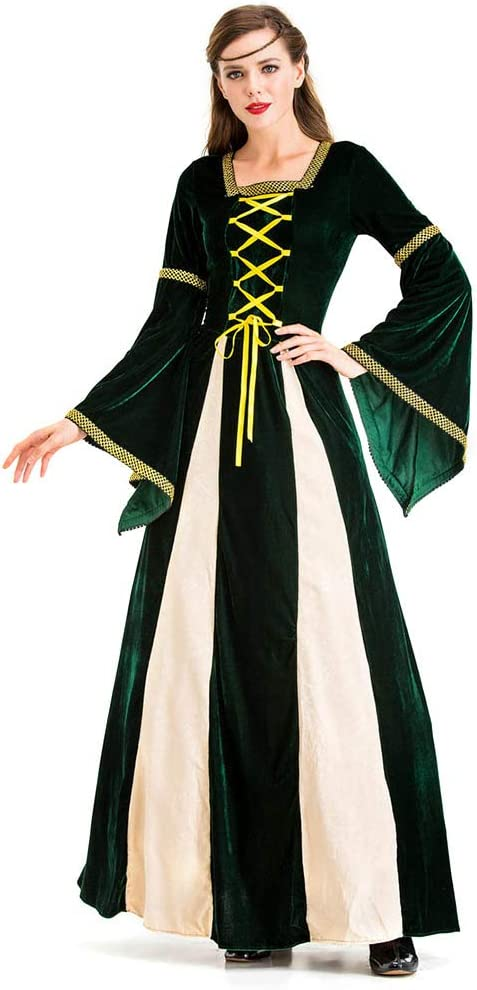 Bweele Vestido Medieval para Mujer, Disfraz de Reina Victoriana ...