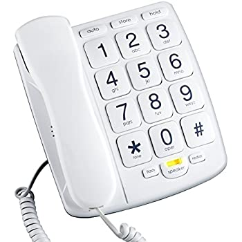 Amazon Com Future Call Fc 1507 Big Button Phone With 40db Handset