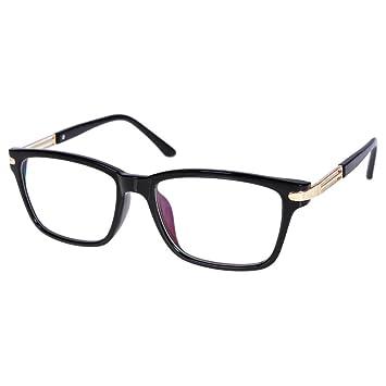 Amazon.com: 1 PR Black Frame Brown Photochromic -4.75 Lenses Myopia ...