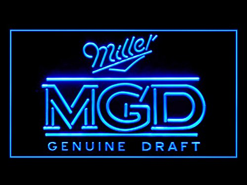 Miller MGD Genuine Draft Beer Led Light Sign