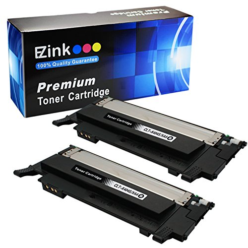 E-Z Ink (TM) Compatible Toner Cartridge Replacement For Samsung 404 404S CLT-K404S (2 Black) Compatible With Xpress C430W C480FW Printer