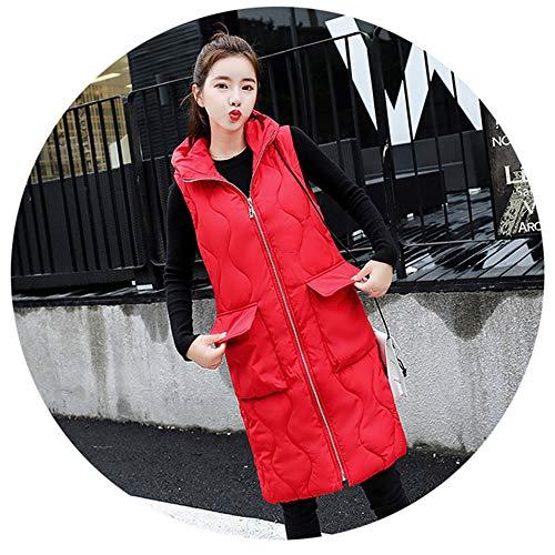 ShiSei(しせい) ダウンベスロング 中綿ベスト 春秋冬 レディース アウター 防風防寒 厚手 大きいサイズ フード付き
