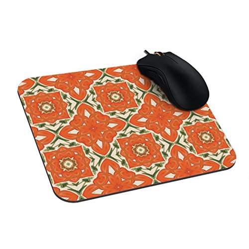 Withyouc Pumpkin Fun Mouse Pads Designer Custom Gaming Mouse Pad 9.25