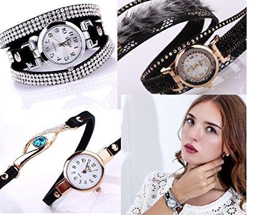 [해외]Liibot 여자의 빈티지 럭셔리 석영 손목 시계 가죽 아날로그 시계 선물/Liibot Women`s Vintage Luxury Quartz Wrist Watch Leather Analog Watch Gift