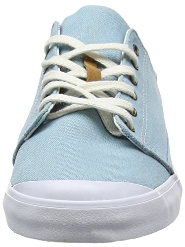 Reef Girls Walled Low, Zapatillas para Mujer Azul (Steel Blue)