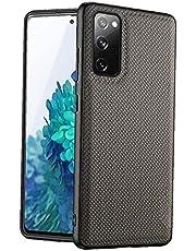 Telefoonhoesje compatibel met Samsung Galaxy S20 FE schokbestendige bescherming nylon telefoonhoes groen