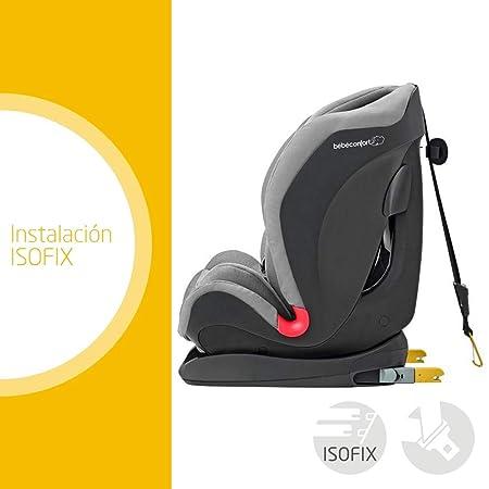 Bébé Confort TITÁN Nomad Black, Silla de auto, grupo 1/2/3, 9-36 Kg, convertible, reclinable, ISOFIX, 9 meses-12 años, color negro