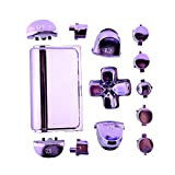 Cewaal Full Buttons Mod Kits Chrome Purple For Sony Playstation 4 PS4 Controller Gamepad Joystick Video Game Accessories For Sale
