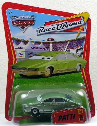 Pixar CARS Movie 1:55 Die Cast Car Series 4 Race-O-Rama Patti Mattel Disney Pixar Cars YH-2VKK-3428 Disney