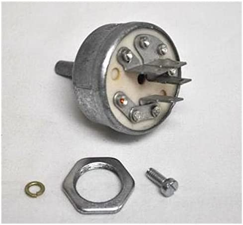 Miller 176606 Switch,Ignition 4 Position Without Handle for Engine Driven Welder