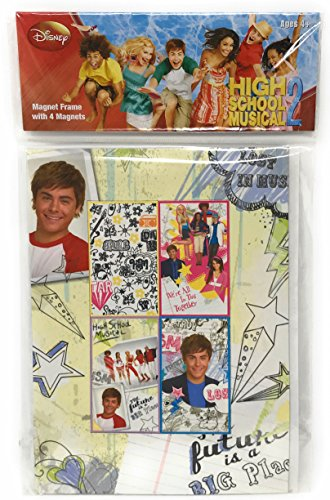 High School Musical Magnet - High School Musical Magnet Frame with Four Magnets