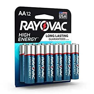 Amazon.com: Rayovac AA Batteries, Alkaline Double A