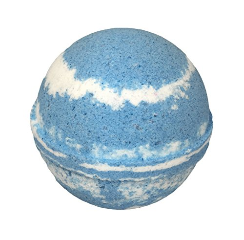 Ocean Mist BUBBLE Bath Bomb in Gift Box - Large Lush Spa Fizzy Kit, Best Gift Idea for Women, Moms, Teens, Girls - Homemade by Moms in the USA - Two Sisters Spa