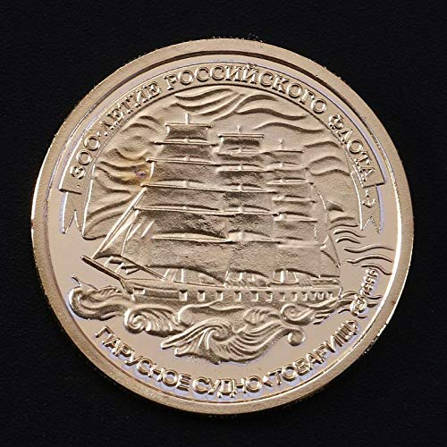 (Non-currency Coins - Azov Cruiser Russia Commemorative Coin Collection Gift Souvenir - Peep Poster Poster Peep Chinese Medal Genuine Hip Bit Ussr Coin Gift Hop Coin German Euro Russia Coin Coin Hop)