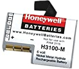 Honeywell H3100-M Rechargeable Battery for Symbol PTD-3100 Hand Held Bar Code Scanner; NiMH, 6V, 750mAh