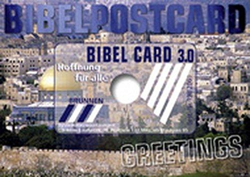 Bibelausgaben, brunnen-verlag, gieãÿen: bibelpostcard, bibel card.