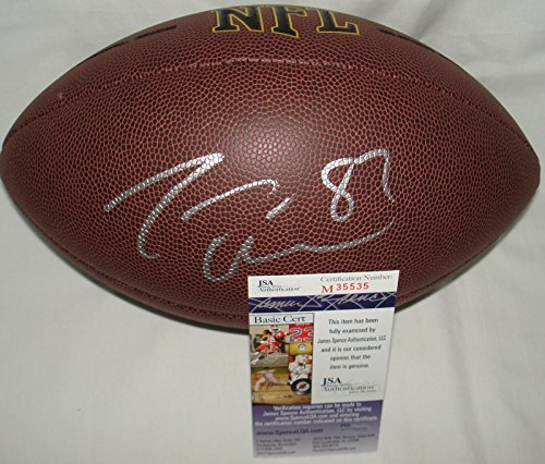 Jason Witten Hand Signed / Autographed Dallas Cowboys NFL Replica Football - ...
