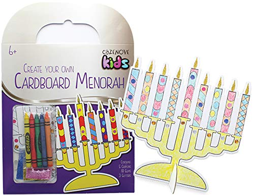 Hanukkah Create Your Own Cardboard Menorah Hanukkah Play