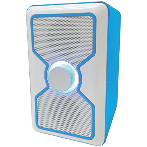 Curtis Sylvania SP015-Blue Bluetooth Speaker with Built-I...