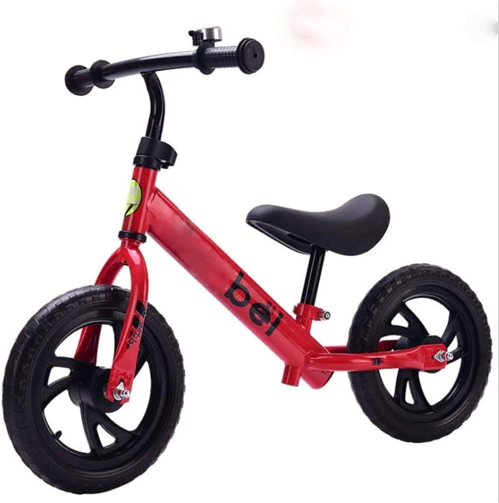 12 « Mousse de pneus enfants Draisienne 2-6 ans garçons et filles scooter jouets mobilité Voyage extérieure outil,rouge rouge
