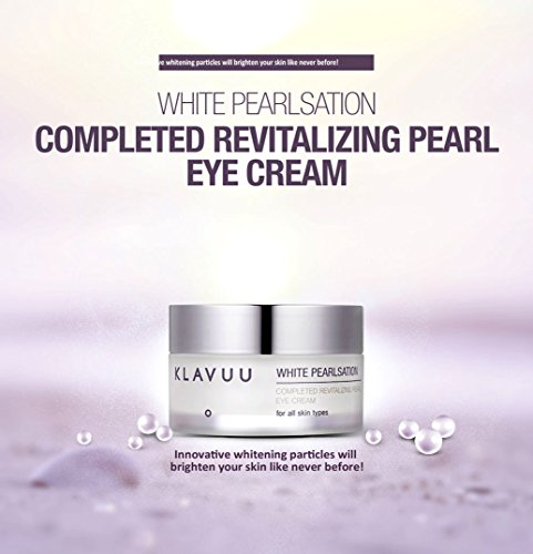 KLAVUU WHITE PEARLSATION BEST Whitening Anti-aging Completed Revitalizing Pearl Eye Cream for all skin types 20ml