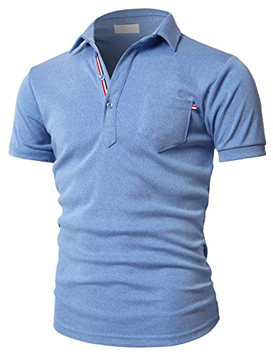Relaxed Fit Short Sleeve Polo Shirt - 8