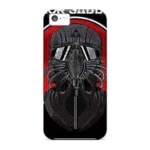 Iphone 5c Fho16994BcCA Customized Vivid Black Sabbath Band Pattern Shockproof Hard Phone Case -MansourMurray