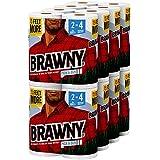 Brawny Paper Towels, 16 XL Rolls, Pick-A-Size, White, 16 = 32 Regular Rolls