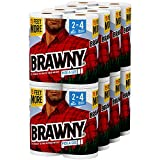 #8: Brawny Paper Towels, 16 XL Rolls, Pick-A-Size, White, 16 = 32 Regular Rolls