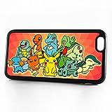 pokemon protective phone case - ( For iPhone 6 Plus / iPhone 6S Plus ) Durable Protective Soft Back Case Phone Cover - A11377 Charmander Pikachu Pokemon