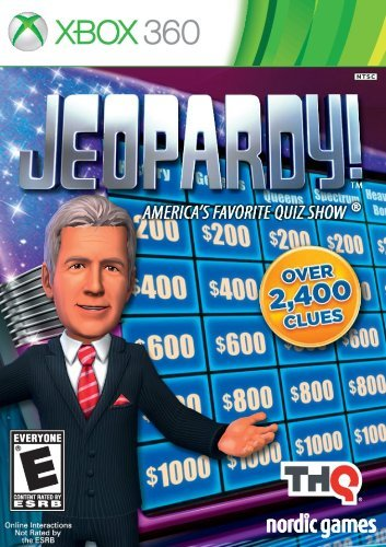 Jeopardy - Xbox 360 (Renewed) (Xbox 360 Jeopardy Game)