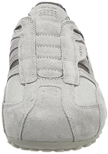 Geox Mens Serpent 126 Sneaker Gris Clair