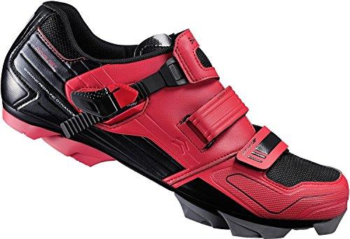 Shimano - Zapatillas de ciclismo para hombre Rojo rojo Rojo