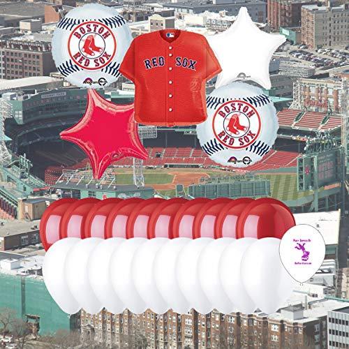 Anagram Boston Red Sox 25 Piece Balloon Set -