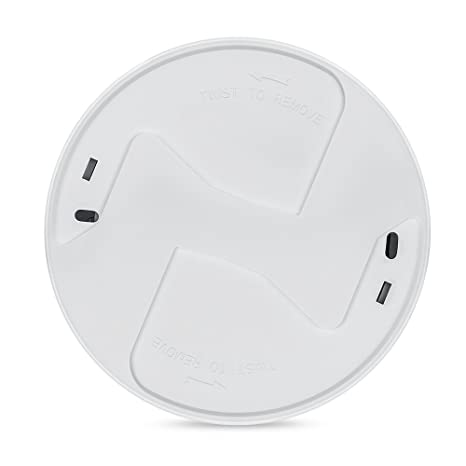X-Sense Detector de Humo Alarma de Incendios con Sensor Fotoeléctrico, con una Batería de 10 Años de Vida Útil; Reinicio Automático, Fácil Instalación ...