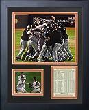 "Legends Never Die 2010 San Francisco Giants Celebration Collage Photo Frame, 11"" x 14"""