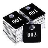 Live Sale Plastic Tags, 001-500 Number