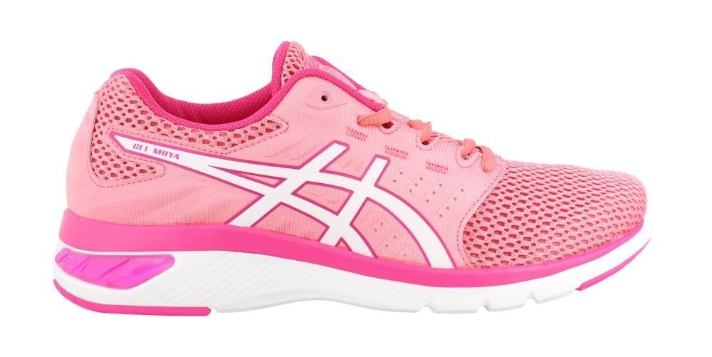 ASICS Women's Gel-Moya Ankle-High Running Shoe B07DMT7TJP 11 B(M) US|Peach Petal/White