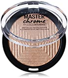 Beauty : Maybelline New York Face Studio Master Chrome Metallic Highlighter, Molten Gold, 0.24 Ounce