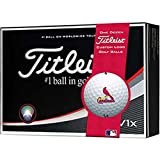 Titleist Pro V1x MLB Golf Balls | St. Louis Cardinals