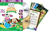 Baby Einstein: Animals Around Me Discovery Kit ( DVD + CD and Discovery Cards) Image