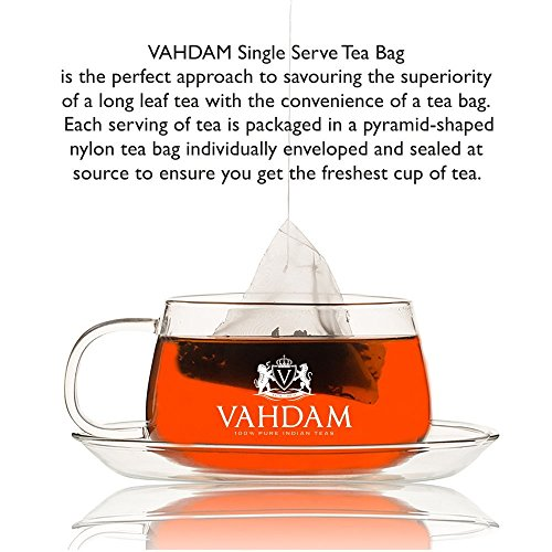 India's Original Masala Chai Tea Bags, 30 TEA BAGS, 100% NATURAL SPICES & NO ADDED FLAVOURING - Blended & Packed in India - Black Tea, Cardamom, Cinnamon, Black Pepper & Clove by VAHDAM (Image #4)