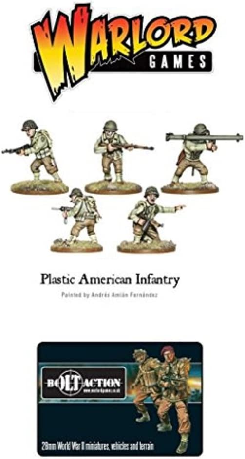 Warlord Games American Infantry 28mm Minautres US Armoured Fist Plastic Half-Tracks by Warlord Games